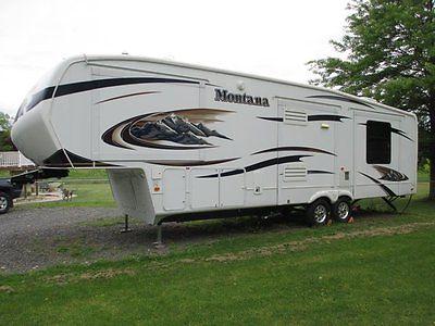 2010 Keystone Montana 3665RE Hickory Edition 37' Fifth Wheel Trailer