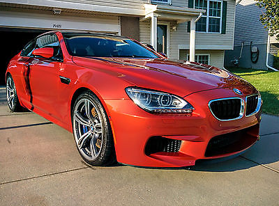 2013 BMW M6 Base Coupe 2-Door 2013 BMW M6 Coupe $120k+MSRP LOADED! LOW MILES! 560HP!