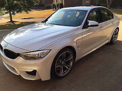 2015 BMW M3 2015 BMW M3 White