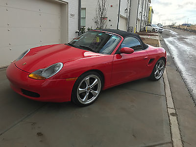 2000 Porsche Boxster Roadster Convertible 2-Door 2000 Porsche Boxster Roadster Convertible 2-Door 2.7L