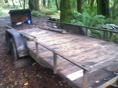 22 Foot Tandem Axel Trailer With Electric Breakaway Brake - 2 Ramps Included