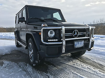 Mercedes-Benz: G-Class G63 2015 Mercedes Benz G63 AMG 5.5L V8 Twin Turbo, Excellent Condition