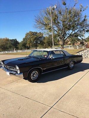 1965 Pontiac Tempest Tempest 1965 TRI-POWER, TEMPEST /GTO Convertible