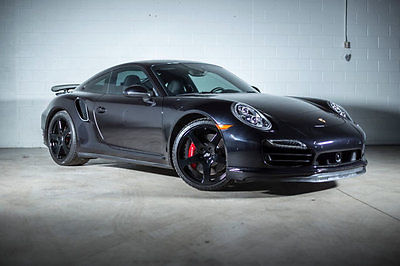 2015 Porsche 911 2dr Coupe Turbo 2015 Porsche 911 2dr Coupe Turbo 7,586 Miles Jet Black Metallic Coupe 3.8L TURBO