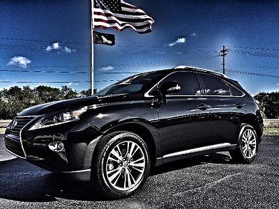 2013 Lexus RX Base Sport Utility 4-Door RX350*PREMIUM*BLACK/BLACK*REAR CAMERA*HEATED/COOLED SEATS*CARFAX CERT*1 OWNER*FL