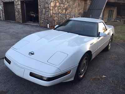 1993 Chevrolet Corvette Convertible 40th anni 1993 corvette convertible