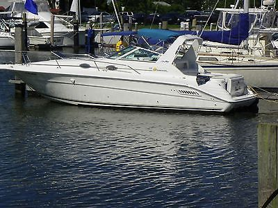 1997 Sea Ray 300 Sundancer EXTRA CLEAN Bravo 3 twin 350 4bolt RUN PERFECT 10.6W