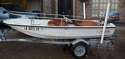 Rare 1984 Boston Whaler 11 Super Sport with Mariner 25 hp and trailer