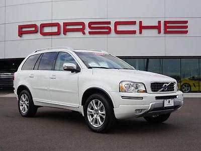 2013 Volvo XC90 AWD 4dr Premier Plus 2013 Volvo XC90 AWD 4dr Premier Plus 37,266 Miles Ice White Sport Utility 3.2L