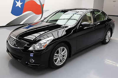2013 Infiniti G37  2013 INFINITI G37 JOURNEY PREM SUNROOF REAR CAM 34K MI #302649 Texas Direct Auto