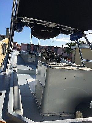 center console boat, 1