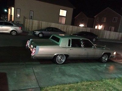 1990 Cadillac Brougham 1990 Cadillac Brougham d'elegance Not Running 2nd Owner. No Reserve