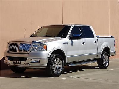 2006 Lincoln Mark Series Base 4dr SuperCrew 4WD SB 2006 Lincoln Mark LT Crew Cab 4x4 Sunroof Navigation Heated Seats Backup Sensors