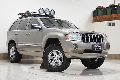 2006 Jeep Grand Cherokee Limited JEEP GRAND CHEROKEE LIMITED 4X4 LIFTED LOW MILES ROOD RACK OFF ROAD LED LIGHTS