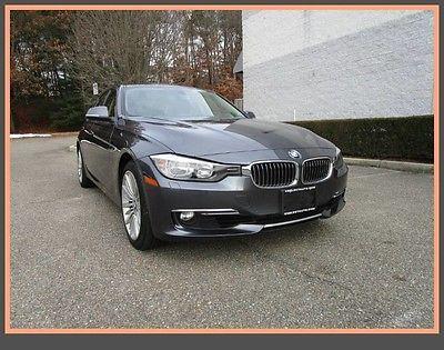 2013 BMW 3-Series Base Sedan 4-Door 13 BMW 328 xdrive AWD Luxury Line Clean fax Garage kept Leather Moonroof heated