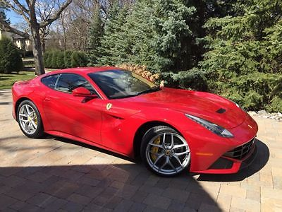 2014 Ferrari F12 berlinetta -- 2015 Ferrari F12  790 Miles Special order Red