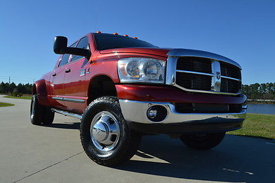 2007 Dodge Ram 3500 SLT 2007 Dodge Ram 3500 Mega Cab SLT 5.9L Cummins Diesel 4x4 LOW MILES CLEAN!!