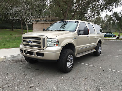 2005 Ford Excursion Limited Sport Utility 4-Door 2005 Ford Excursion Diesel 4x4 Limited 90K Miles Mint Condition Clean Title