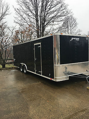 LIKE NEW 2016 Homesteader 8.5'x24' Cargo Enclosed Car Trailer 9,950 lb GVW