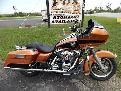 2008 Harley-Davidson Touring  2008 FLTR 105TH ANNIVERSARY COPPER PEARL VIVID BLACK ROAD GLIDE 703 OF 1500 MADE