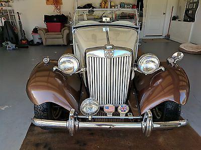 1951 MG T-Series MG TD Original