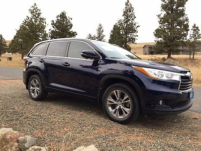 2014 Toyota Highlander XLE 2014 Toyota Highlander XLE (Clean Title!)