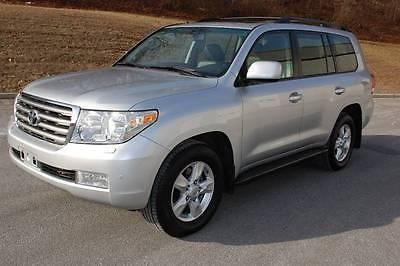 2008 Toyota Land Cruiser Base AWD 4dr SUV 2008 toyota land cruiser base awd 4 dr suv 149894 miles silver suv 5.7 l v 8 automa