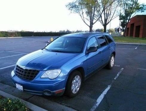 2007 Chrysler Pacifica 2007 Chrysler Pacifica Wagon 3.8L V6 Blue 4dr AWD
