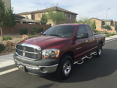 2006 Dodge Ram 1500 ST Crew Cab Pickup 4-Door 2006 DODGE RAM 1500 QUAD CAB CLEAN CARFAX 1 OWNER IMMACULATE CONDITION