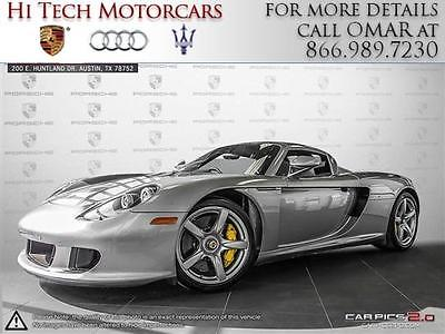 2004 Porsche Carrera GT 2004 Porsche Carrera GT V10 5.7L 605 HP 6-Speed Manual