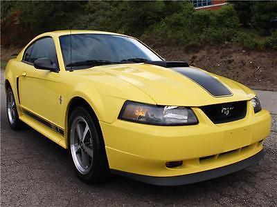 2003 Ford Mustang Premium Mach 1 2003 Ford Mustang Premium Mach 1 50,982 Miles Zinc Yellow 2dr Car 8 Cylinder Eng