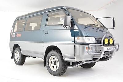 1991 Mitsubishi Delica Exceed 5-Speed 4WD 1991 Mitsubishi Delica Exceed 5-Speed 4WD 54,700 Miles Van 2.4L 4 Cyl Manual