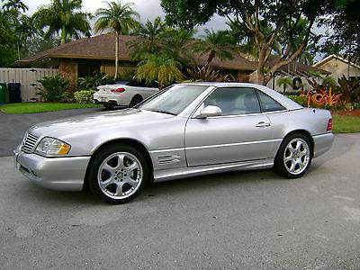 2002 Mercedes-Benz SL-Class Silver Arrow 2002 SL500 - SP. ED - SILVER ARROW - 1 of 1450 Built - 100% Orig. Mint Cond.