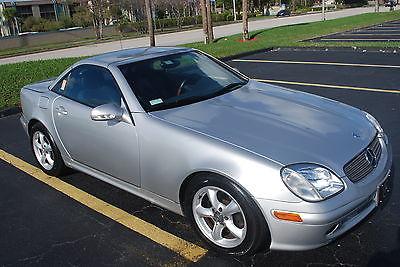2002 Mercedes-Benz SLK-Class Convertible 2002 Mercedes Benz SLK320 LOW MILES