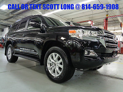 2017 Toyota Land Cruiser New 2017 Land Cruiser 5.7L V8 4x4 Nav DVD Sunroof New 2017 Toyota Land Cruiser 4x4 Navigation Moonroof 3rd Row Seat Leather 4WD