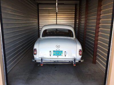 1957 Mercedes-Benz 200-Series 219 1957 Mercedes 219 W105, Ponton, 300, Alfa, Fiat, BMW