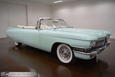 1960 Cadillac Deville Convertible Car 1960 Cadillac Deville Convertible