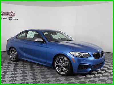 2015 BMW M Roadster & Coupe i xDrive AWD I6 Coupe Sunroof Heated Leather Seats 13k Miles 2015 BMW M235 AWD Coupe Backup Camera Push Start AUX USB Bluetooth