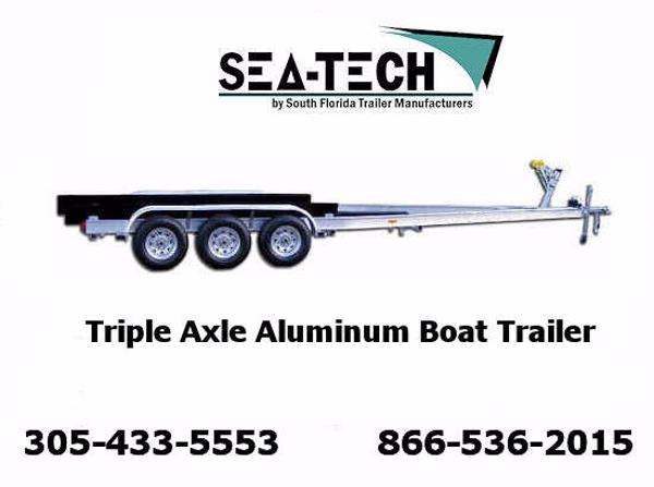 2017 New SEA-TECH Triple Axle