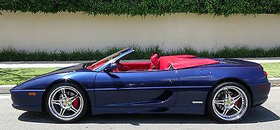 1996 Ferrari 355  Ferrari F355 SPIDER UNIQUE CLASSIC COLOR 355  SERVICED HRE MANUAL GEARBOX TUBI