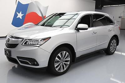 2014 Acura MDX  2014 ACURA MDX SH-AWD TECH PACKAGE SUNROOF NAV 26K MI #043339 Texas Direct Auto