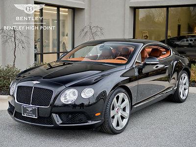 2013 Bentley Continental GT Mulliner Bentley Certified