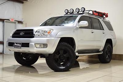 2003 Toyota 4Runner Limited TOYOTA 4 RUNNER LIFTED AWD LOOKIN DIFFERENTIAL ROOF RACK LIMITED LED LIGHTS