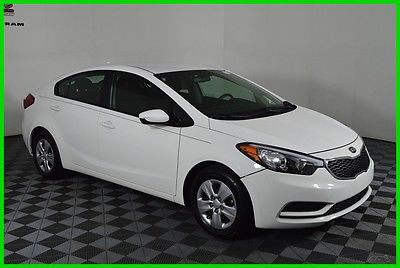 2016 Kia Forte LX FWD Manual I4 Sedan Bluetooth Cloth Seats 26336 Miles 2016 Kia Forte LX FWD Manual Sedan Bluetooth FINANCING AVAILABLE