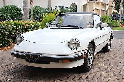 1985 Alfa Romeo Spider Veloce 1985 Alfa Romeo Spider Veloce