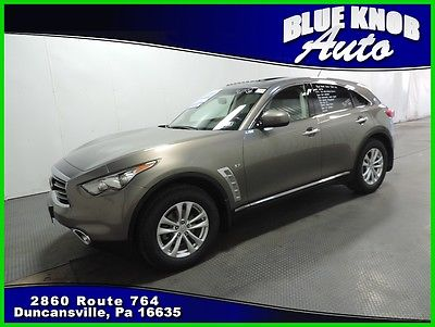 2014 Infiniti QX70 Base Sport Utility 4-Door 2014 Used 3.7L V6 24V Automatic All-wheel Drive SUV Bose Premium