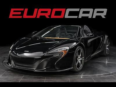 2015 Other Makes 650S Spider Convertible 2-Door 2015 McLaren 650S Spider, CARBON INTERIOR, STUNNING, ONLY 1500 MILES