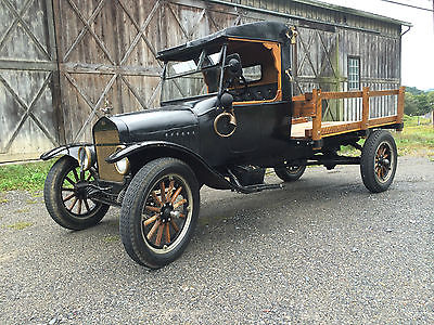 1924 Ford Model T stake body 1924 Ford Model TT stake body