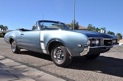 1968 Oldsmobile 442 Convertible 1968 OLDSMOBILE 442 CONVERTIBLE - All #'s Matching - Concours Restoration!