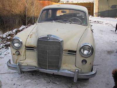 1959 Mercedes-Benz 190-Series 1959 Mercedes Benz 180D Ponton over $7,000 in parts. barn fresh 30 yrs UTAH